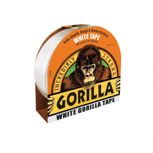Gorilla 3044601 Tape White 48mm x 27m